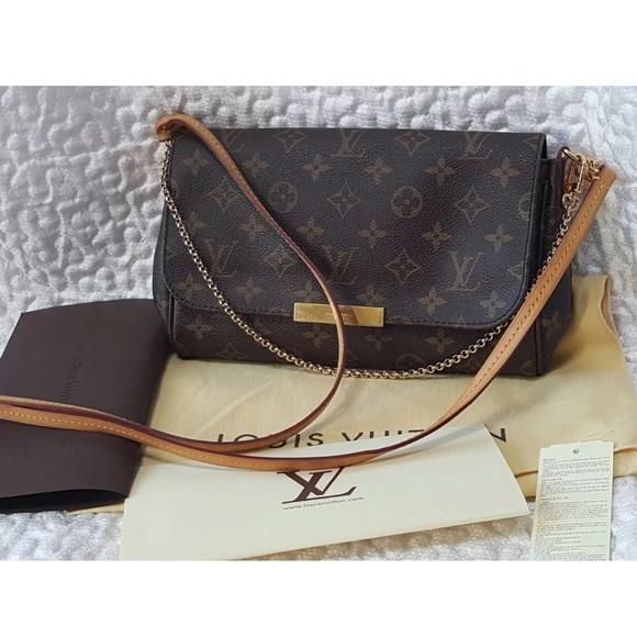 35c298a69e09 Louis Vuitton Handbags - Authentic Louis Vuitton Favorite MM Monogram